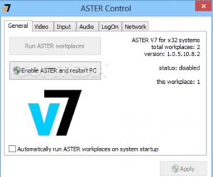 ASTER V7 2 25 Crack Activation Key Full Version Latest