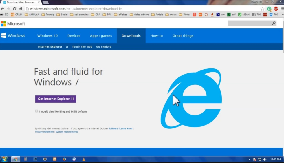 Internet Explorer Windows 7 Download